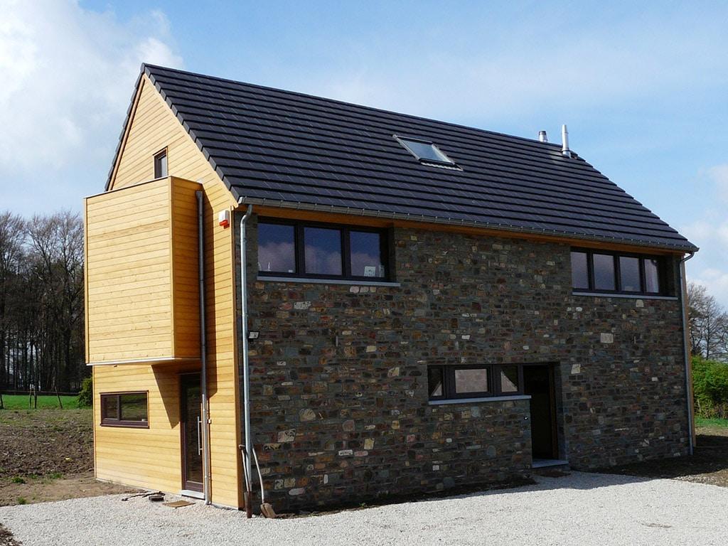 maison en bois dans le Finistère - Maison Bois'art
