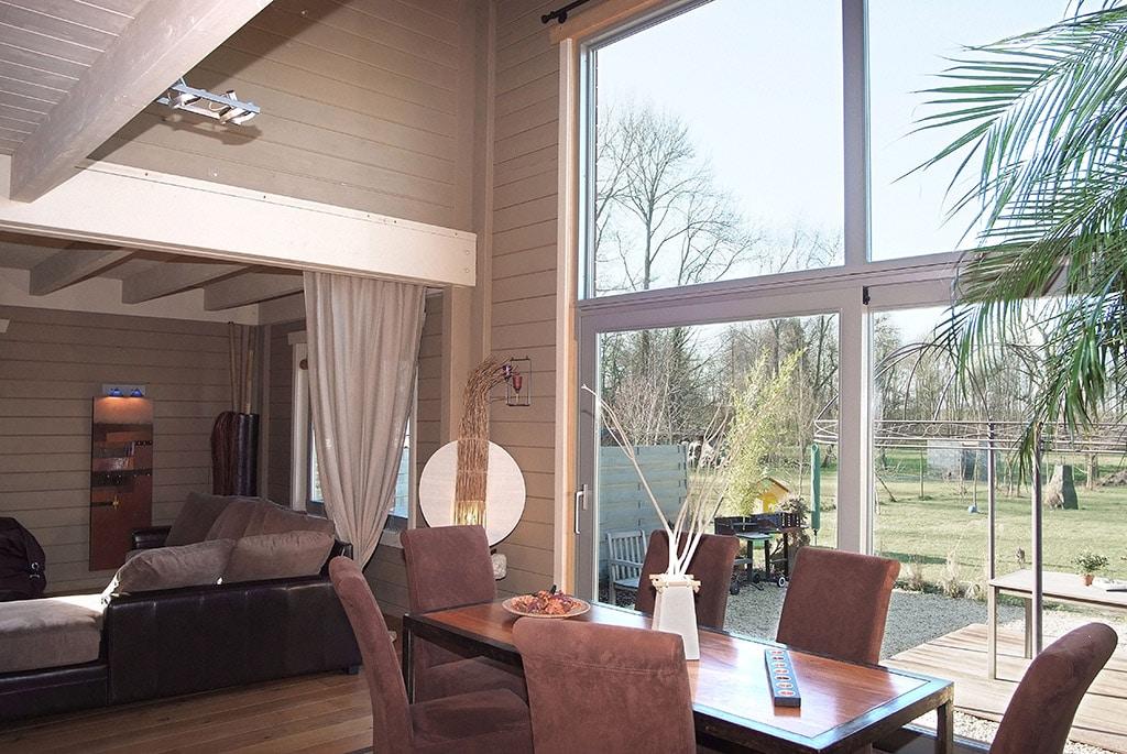 maison à ossature bois Nantes maison bois