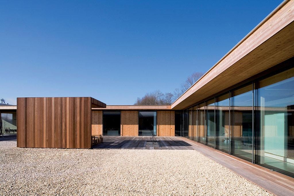 maison contemporaine en bois Maison Bois'art