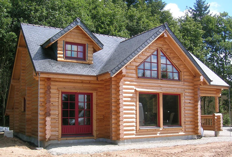 maison bois Eure et Loire